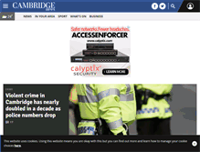Tablet Preview of cambridge-news.co.uk